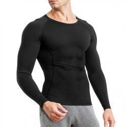 Junlan Men Slimming Compression Long Sleeve