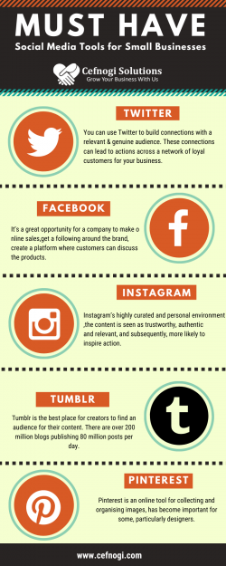 Must have these social media tools for promote your business