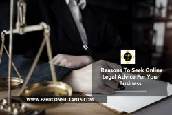 Reasons To Seek Online Legal Advice For Your Business