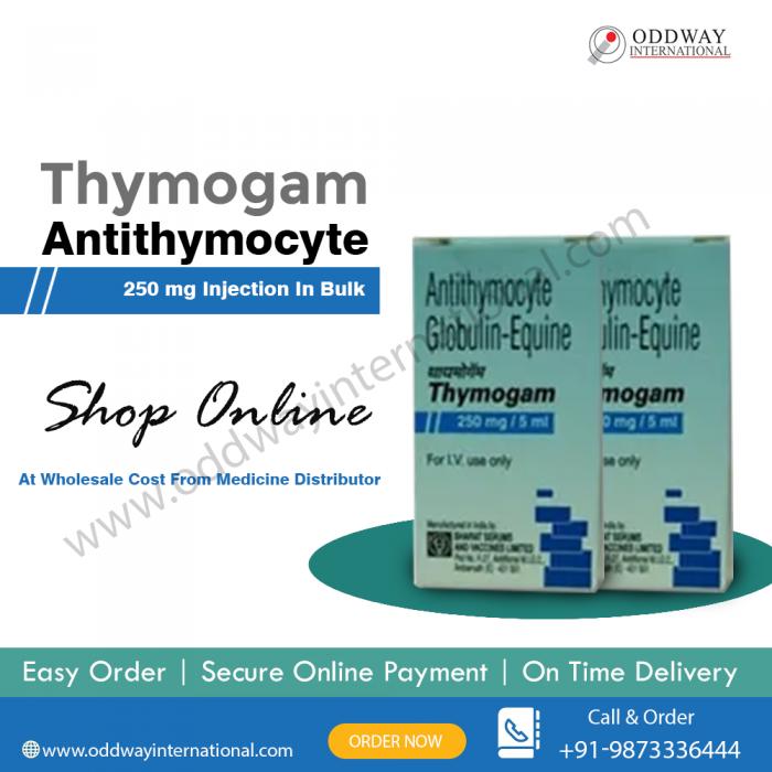 Thymogam Antithymocyte 250 mg Injection Wholesale Supplier