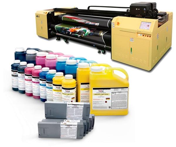 Tintas Base solvente digital