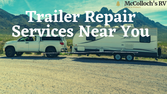 Best Trailer Repair Sacramento CA Services