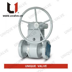 Two Pieces Metal Seated Ball Valve