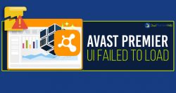 Why Is My Avast Premier UI Failed To Load?