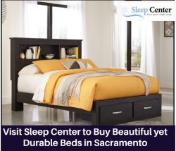 Visit Sleep Center to Buy Beautiful yet Durable Beds in Sacramento
