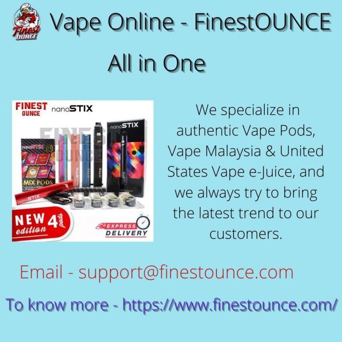 Vape Online – FinestOUNCE