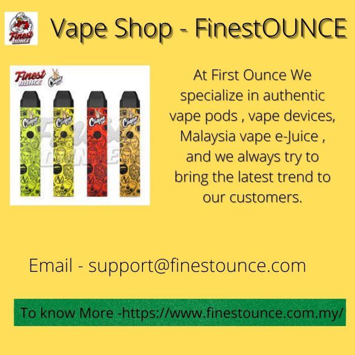 Vape Shop – FinestOUNCE