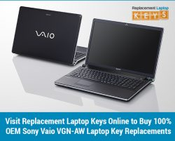 Visit Replacement Laptop Keys Online to Buy 100% OEM Sony Vaio VGN-AW Laptop Key Replacements