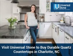 Visit Universal Stone to Buy Durable Quartz Countertops in Charlotte, NC