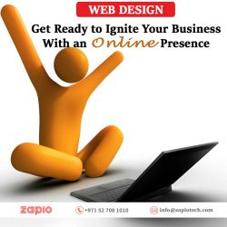 Website Design Dubai | Zapio Technology