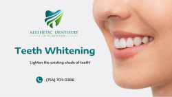 Whiten Your Teeth with ADP Dentistry