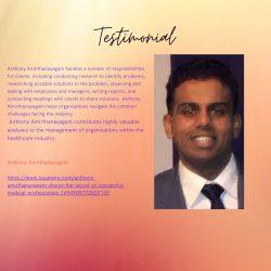 Anthony Amirthanayagam – Amazing Medical And Health Professional