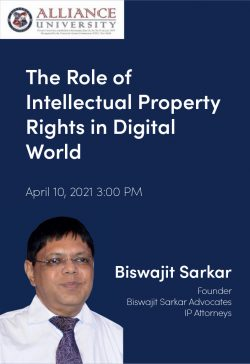 Intellectual property rights in Digital World – Biswajit Sarkar