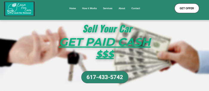 Cash for Cars – Junk Car Removal