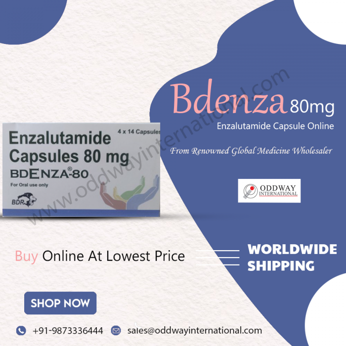 Bdenza 80mg Enzalutamide Capsule At Lowest Price