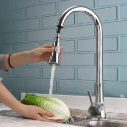 Pull Down Kitchen Faucets with Sprayer – Kitchen Faucets