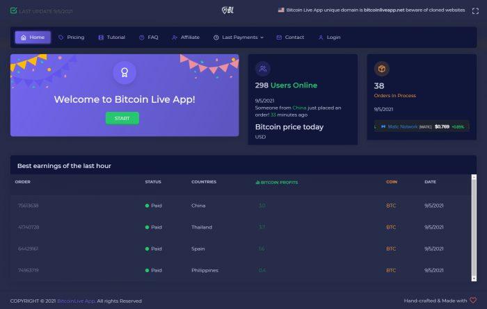 Bitcoin live app legit