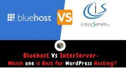 Bluehost vs InterServer