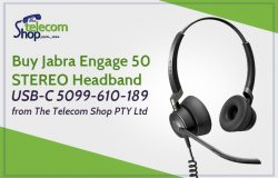 Buy Jabra Engage 50 STEREO Headband USB-C 5099-610-189 from The Telecom Shop PTY Ltd