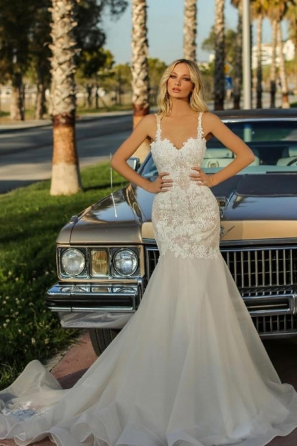 Designer Hochzeitskleider Meerjungfrau   Brautkleider Günstig Online