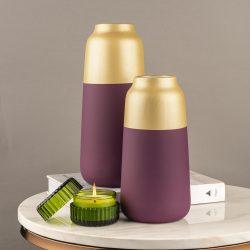 Purchase online alluring Glass flower vase from Dekor company