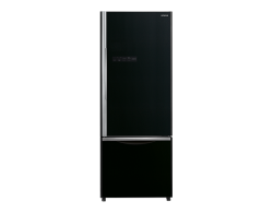 Hitachi 2 door fridge with freezer on bottom for you