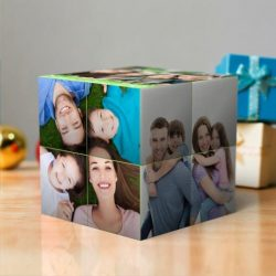 Custom Multi Photo Folding Magic DIY Rubik's Cube For
