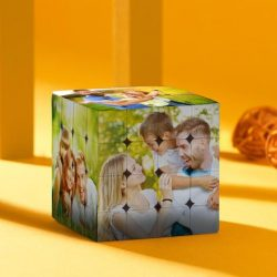 Custom Photo Rubik's Cube Family's Love DIY Multiphoto Cube