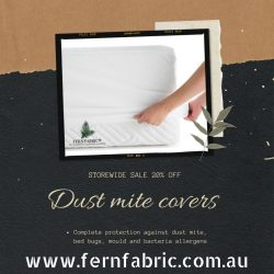 Dust mite covers
