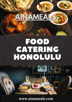 Food Catering Honolulu