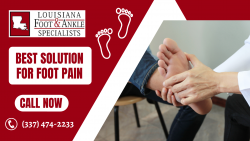 Advanced Therapy To Solve Your Foot Pain