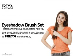 Eyeshadow Brush Set | FREY'A Nordic Beauty