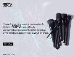 Makeup Brush Kit – FREY'A Nordic Beauty