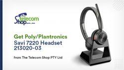 Get Poly/Plantronics Savi 7220 Headset 213020-03 from The Telecom Shop PTY Ltd