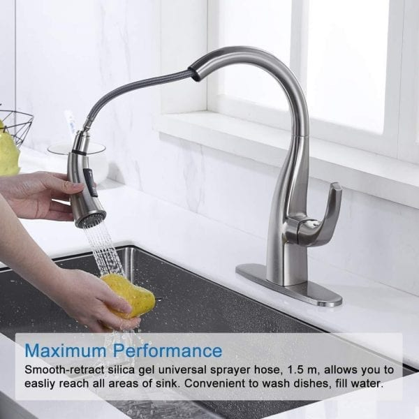 Buy Best & Stylish Pull Down Kitchen Faucet & Increase Your Kitchen Beauty – WOWOW ...