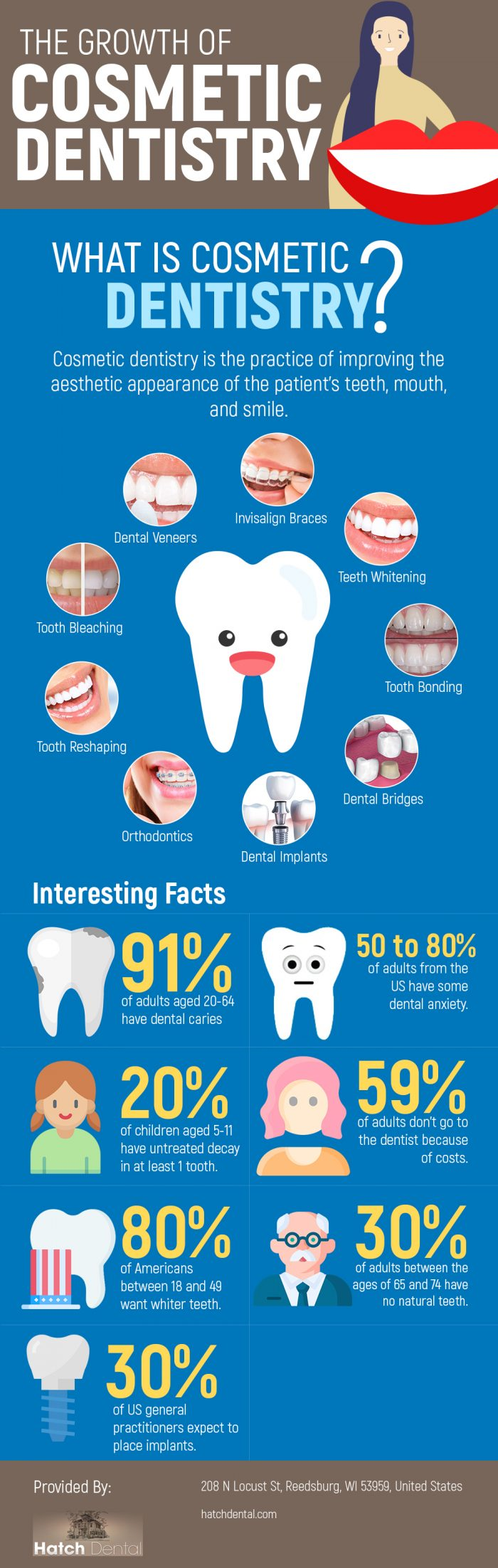 Restore Your Smile with Cosmetic Dentistry Procedures in Reedsburg, WI from Hatch Dental