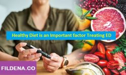 Healthy Diet is an Important factor Treating ED