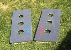 Easy to learn 3 hole washers game rules