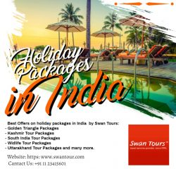 Holiday Packages in India – Swan Tours