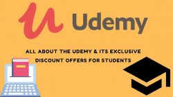 Udemy Learning and Its Exclusive Students Discount Offers