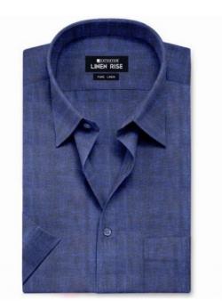 Berry – Pure Linen Colour Shirts – LC20004