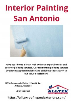 Interior Painting San Antonio – AllTex Roofing and Exteriors