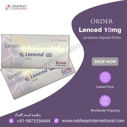 Lenced 10mg Lenvatinib Capsule Online