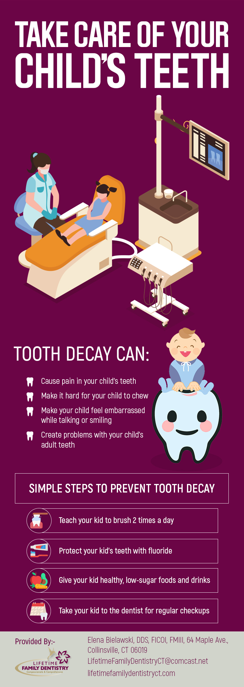 Choose Lifetime Family Dentistry for Quality Children's Dentistry in Collinsville, CT