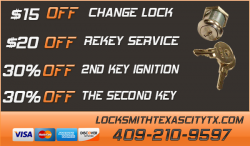 Locksmith Texas City TX