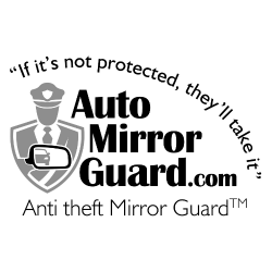 Anti theft mirror guard locks, secure your car side door mirrors from theft