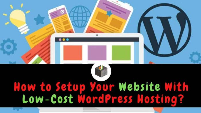 WordPress Website Create With Low Budget Web Hosting Services