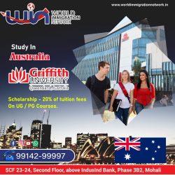 Australia Study Visa With Griffith University
