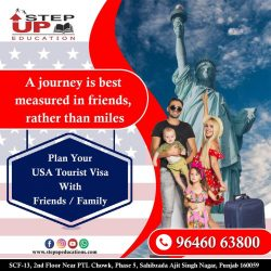 Plan Your USA Tourist Visa With Friends / Family.