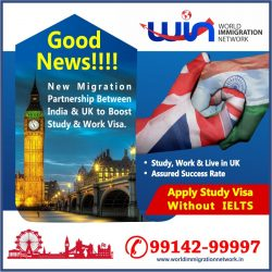 Apply Study Visa Without IELTS